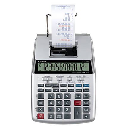 Canon P23-DHV-3 Printing Calculator