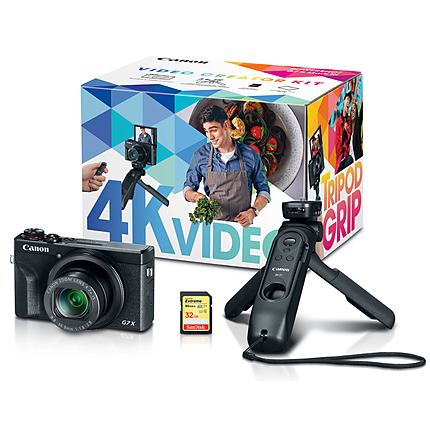 Canon PowerShot G7 X Mark III Digital Camera Video Creator Kit