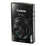 Canon PowerShot ELPH 190 IS Digital Camera - Black