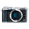 Canon EOS M6 Mirrorless Digital Camera Body Only - Silver