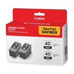 Canon PG-40 Black Ink Cartridge Twin-Pack for iP1600
