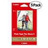 Canon 4x6in Photo Paper Plus Glossy II (5 Pack 500 Sheets)