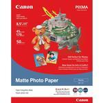 Canon 8.5X11 Matte Photo Paper (50 Sheets)