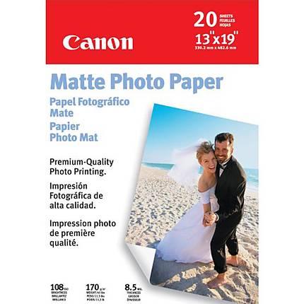 Canon 13X19 Matte Photo Paper (20 Sheets)