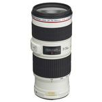 Canon EF 70-200mm f/4L IS USM Telephoto Zoom Lens - White