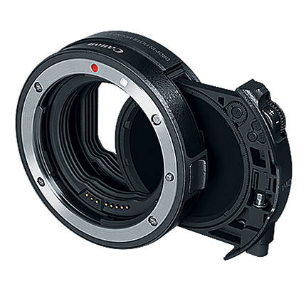 Canon EF-EOS R Drop-in Filter Mount Adapter with Variable ND Filter A