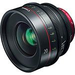Canon CN-E 20mm T1.5 L F Cinema Prime Lens (EF Mount)