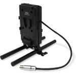 CoreSWX Battery Cheeseplate  and  15mm LWS Rod Clamp for ARRI Mini Alexa- AB-Mnt
