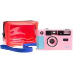 dubblefilm SHOW Camera Pink w/ Flash Case Strap