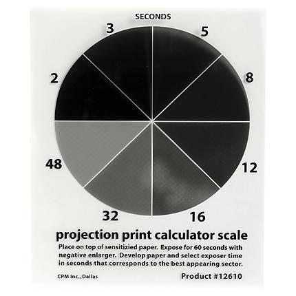 Delta 1 Projection Print Calculator Scale 4x5