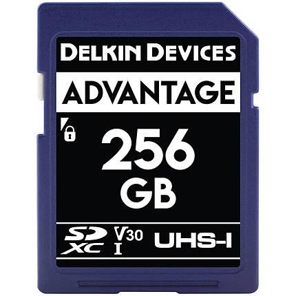 Delkin Devices 256GB SDXC Elite 633X 95MB/s Read 80MB/s Write