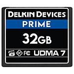 Delkin Devices 32GB 1050X Compact Flash UDMA 7 Cinema Memory Card