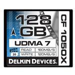 Delkin Devices 128GB 1050X Compact Flash UDMA 7 Cinema Memory Card