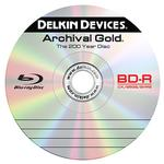 Delkin Devices BD-R Blu-Ray Archival Gold  Recordable Disc (25) Spindle