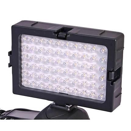 DLC DV60 Video  and  DLSR Shoe Mounted LED 5600 Degree Kelvin Light