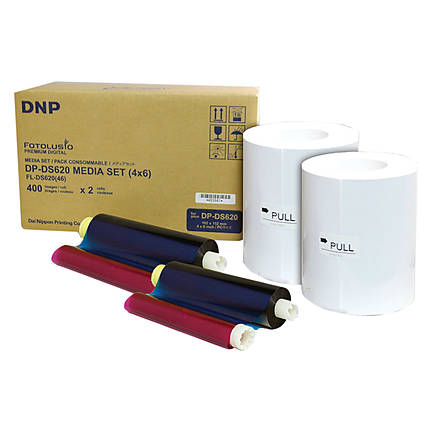 DNP 4x6 Media for DS620A Roll Printer