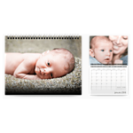 Wall-Mounted Calendar, 11x8.5, 18 months