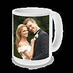 15 oz White Ceramic Mug