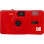 Kodak M35 Flame Scarlet Film Camera with Flash