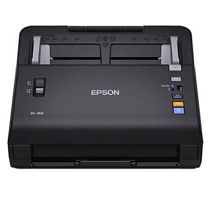 Epson WorkForce DS-760 600 dpi Color Document Scanner - Black