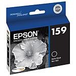 Epson 159 UltraChrome Hi-Gloss 2 Matte Black Ink Cartridge for R2000