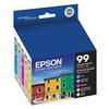 Epson T099 Claria Hi-Definition Color Multi-Pack Ink Cartridges