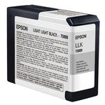 Epson T580900 UltraChrome K3 Light Light Black Ink 80ml
