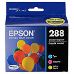 Epson 288 DURABrite Ultra Color Combo Ink Cartridge Set