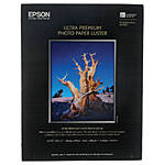 Epson 8.5x11 In. Ultra Premium Luster Paper - 50 Sheets