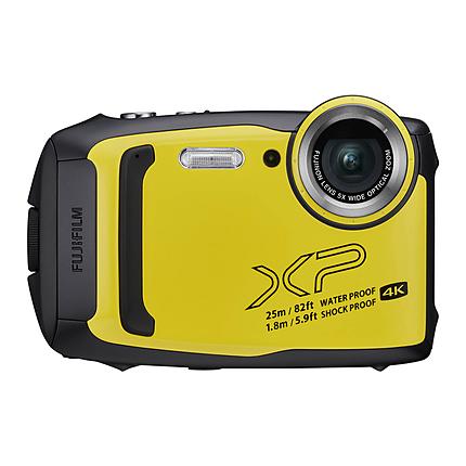 Fujifilm FinePix XP140 Yellow w/ SD Card
