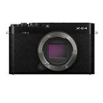 Fujifilm X-E4 Mirrorless Digital Camera Body - Black