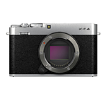 Fujifilm X-E4 Body with XF27mmF2.8 R WR Lens Kit - Silver