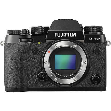 Fujifilm X-T2 Mirrorless Digital Camera Body Only - Black
