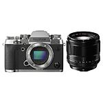 Fujifilm X-T2 Mirrorless Digital Camera (Silver) with XF 56mm f/1.2 Lens