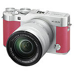 Fujifilm X-A3 Mirrorless Digital Camera with 16-50mm Lens - Pink