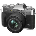 Fujifilm X-T30 II Mirrorless Digital Camera with 15-45mm Lens (Silver)