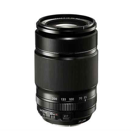 Fujifilm Fujinon XF 55-200mm f/3.5-4.8 R LM OIS Telephoto Zoom Lens - Black