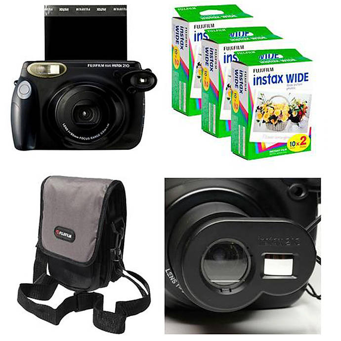 Fujifilm Instax 210 Deal With Camera 3 Packs Of Film And Case