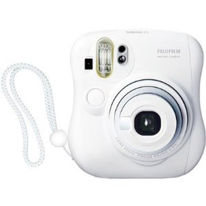Fujifilm Instax Mini 25 Camera (White) uses Mini Film | FujiFilm ...