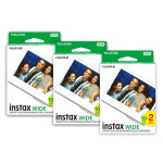 Fujifilm Instax Instant Wide Film 3x Twin Packs (60 Pictures)