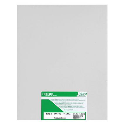 Fujifilm Crystal Archive Type II 11x14 (100 sheets) Lustre