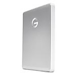 G-Technology 2TB G-DRIVE Mobile USB-C Portable External Hard Drive -Silver