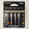 Eneloop Rechargeable Ni-MH AA 4pk Batteries (2550mAh) Panasonic Brand (