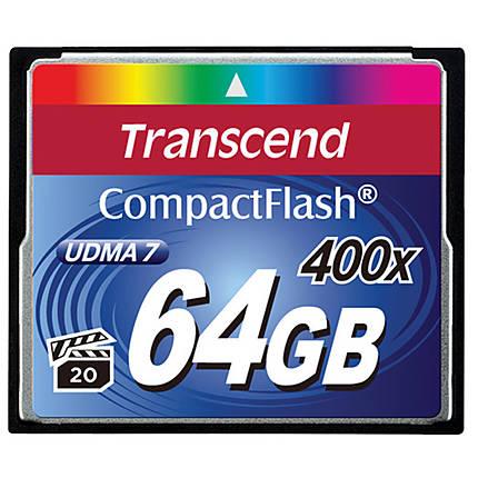 Transcend 64GB 400x UDMA Compact Flash Card