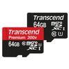 Transcend 64GB 400x UHS-1 Class 10 Micro SDXC Memory Card