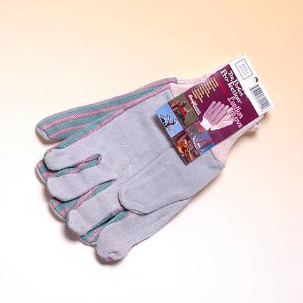 Leather Palm Gloves Knit Wrist All Purpose Work Gloves (Brands Vary ... 94ec510f0581