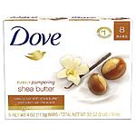 Dove Soap 135gm Shea Butter Beauty Bar