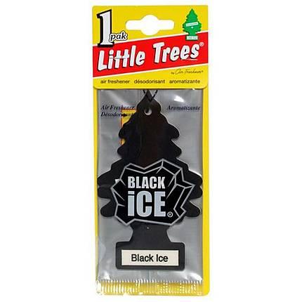 Little Tree Black Ice Air Freshner Single Pack