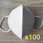 UNIQUE KN-95 MASKS (100 MASK)(KOREAN)(CERTIFIED)(KN95)