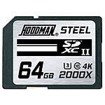 Hoodman Steel 64GB SDXC UHS-II U3 Class 10